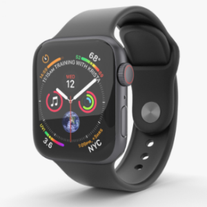 apple watch 4 stikliuko keitimas